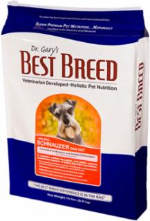 Best Breed Schnauzer Dog Diet 30 lb.