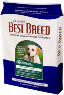 Best Breed Grain Free Dog Chicken With Fruit and Vegetables 15#
