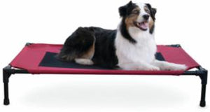 K&H Elevated Pet Bed Large Barn Red Bed