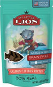 American Pet Nutrition My Little Lion Salmon-Licious Recipe Cat Treats 2.6oz *REPL 552021