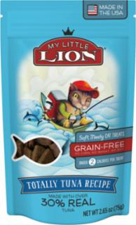 American Pet Nutrition My Little Lion Totally Tuna Recipe Cat Treats 14/2.65oz *REPL 552022