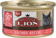 American Pet Nutrition My Little Lion 96% Salmon Recipe Can Food 24/3oz