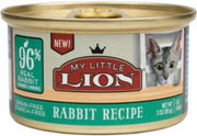 My Little Lion 96% Rabbit Recipe Can Food 24/3Z