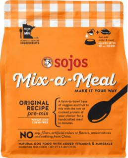 Sojo's Grain Free Freeze Dried Mix-A-Meal Original Dog 2.5# *REPL 557003