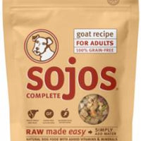 Sojos Complete Adult Dog Food Trial Packages - Goat 4Z