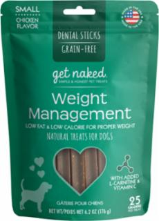 N-Bone Get Naked Weight Stick Small Dog Treat 6.2z  *REPL 575254