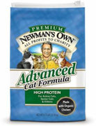 Newman's Own Cat Advanced Chicken/Rice 6/4.75 lb.
