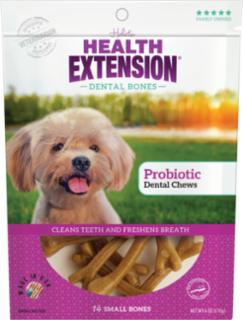 Health Extension Small Probiotic Dental Chews 14pk *REPL 587091