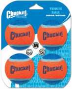 Canine Hardware Tennis Balls 4 Count Medium