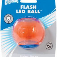 Canine Hardware Chuckit! Flashing LED Ball Medium