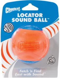 Canine Hardware Chuckit! Locator Sound Ball Large