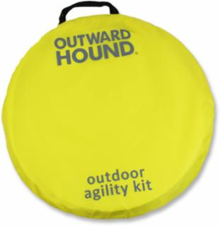 Outward Hound Zip and Zoom Agility Kit Outdoor 34PC