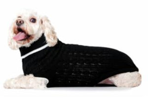 Ethical Fashion Pet Sweater Classic XLarge Black