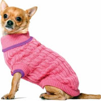 Ethical Fashion Pet Sweater Classic XXXSmall Pink
