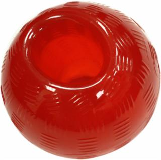 Ethical Play Strong Rubber Ball Mini Red Dog Toy 2.25""