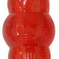 Ethical Play Strong Rubber Chew Mini Red Dog Toy 2.75""