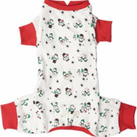 Ethical Holiday Snowmen Red PJs XxSmall