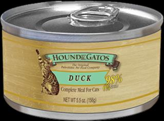 Hound & Gatos Cat Duck & Duck Liver 24/5.5Z