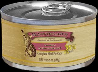 Hound & Gatos Cat Original Paleolithic Diet 24/5.5ZPROMOTION 25% OFF