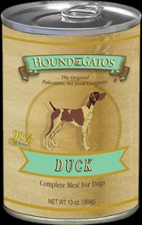 Hound & Gatos Dog Duck & Duck Liver 12/13ZPROMOTION 25% OFF
