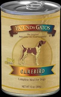 Hound & Gatos Dog Gamebird 12/13Z