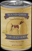 Hound & Gatos Dog Lamb/Salmon/Chicken 12/13Z