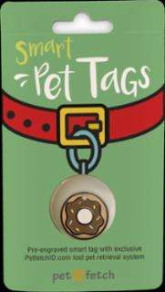 PetFetch Smart Tag Emoji Doughnut