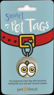 PetFetch Smart Tag Emoji I See You