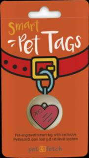 PetFetch Smart Tag Emoji Heart