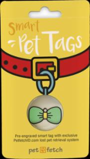 PetFetch Smart Tag Emoji Bow Tie