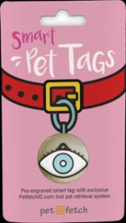 PetFetch Smart Tag Emoji Eye-Spy
