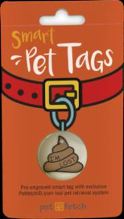 PetFetch Smart Tag Emoji Poop I'm Lost