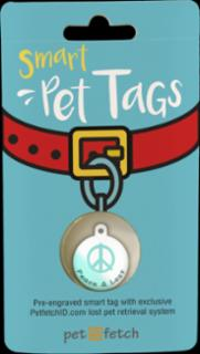 PetFetch Smart Tag Fun Peace & Lost