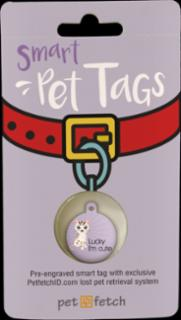 PetFetch Smart Tag  Fun Lucky I'm Cute