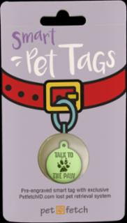 PetFetch Smart Tag Fun Talk to the Paw