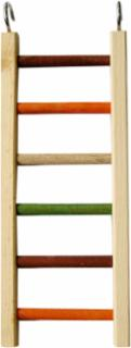 A&E Cage Wooden Hanging Ladder 14""