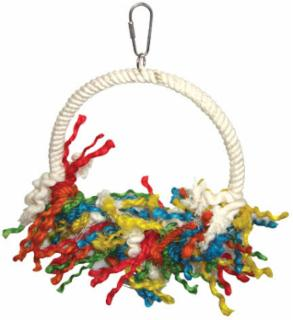 A&E Cage Large Rope Preening Swing
