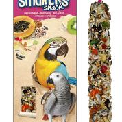 A&E Vitapol Smakers Parrot Maxi Twin Pack Treat Stick- Fruit 2 pack