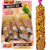 A&E Vitapol Smakers Parakeet Treat Sticks - 12 ct Display Box Fruit