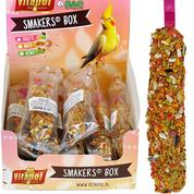 A&E Vitapol Smakers Cockatiel Treat Sticks - 12 ct Display Box Fruit