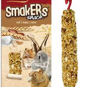 A&E Vitapol Smakers Small Animal Twin Pack Treat Stick - Nut2 pack