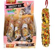 A&E Vitapol Smakers Small Animal Treat Stick - 12 ct Display Box Vegetable