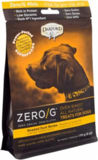 Darford ZERO/G Minis Oven Baked All Natural Treats for Dogs Roasted Duck Recipe 6/6Z