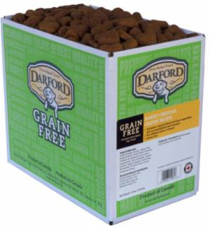 Darford Grain Free Baked Cheddar Cheese Dog Treat 15# *Repl 648024