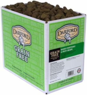 Darford Grain Free Baked Veggie/Fruit Dog Treat 15# *Repl 648027
