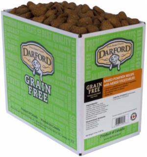 Darford Grain Free Baked Pumpkin/Veggie Dog Treat 15# *Repl 648030
