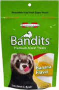 Marshall Pet Bandits Ferret Treats 3 oz. Banana Flavor