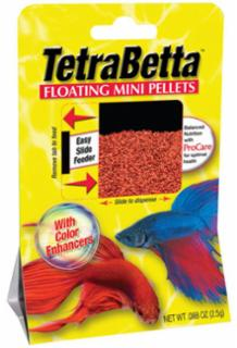 Tetra Betta Mini Floating Pellet .15z *Repl 679322