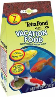 Tetrapond Vacation Food 3.45oz