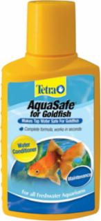Tetra Aquasafe For Goldfish 3.38oz 100ml
